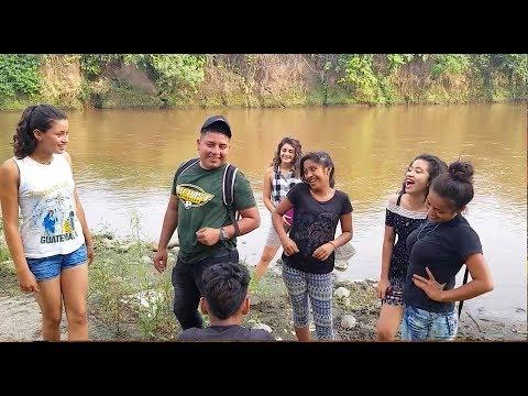 Videos caseros - A bañarnos a Un rio super Sucio con todas las Chikas