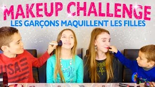 Video MAKEUP CHALLENGE Garçons VS Filles - Swan & Néo maquillent les filles... MP3, 3GP, MP4, WEBM, AVI, FLV September 2017
