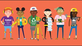 This is the story of the NYC Department of Design and Construction's (DDC's) STEAM Young Engineers Program. This is an after...