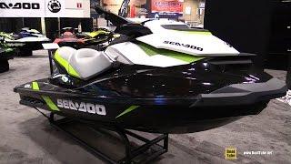 10. 2016 Sea Doo GTI SE 130 Jet Ski - Walkaround - 2016 Toronto Boat Show