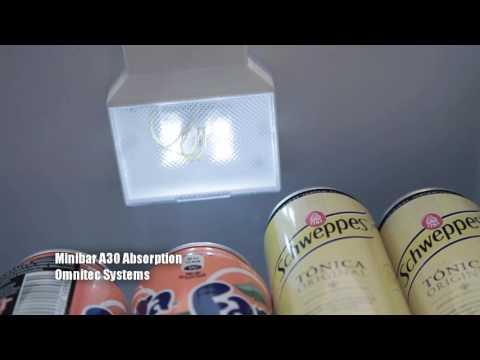 Omnitec Minibar A30 Puerta de Cristal