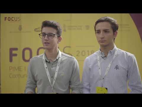 David Cayuela y Javier Monleón en Focus Pyme y Emprendimiento Comunitat Valenciana 2018