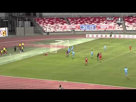 المحرق 4-4 الرفاع .. دوري فيفا البحرين 2014/2015