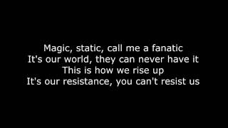 Video Skillet - The Resistance (Lyrics HD) MP3, 3GP, MP4, WEBM, AVI, FLV Desember 2017