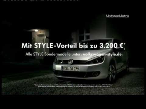 "VW Werbung ""Golf STYLE"" (Hallo, ich bin Kai) 2011 VW commercial [TV spot]"