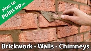 Video How to Point a Brickwork Wall or Repoint a Chimney MP3, 3GP, MP4, WEBM, AVI, FLV Juli 2019
