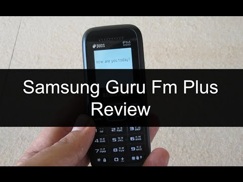 Samsung Guru Fm Plus SM-B110E/D Review