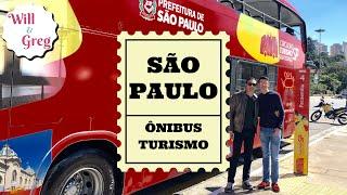 TOUR SÃO PAULO - CIRCULAR TURISMO - HOP ON HOP OFF  Sightsee...