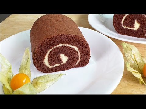 How to Make Chocolate Swiss Roll