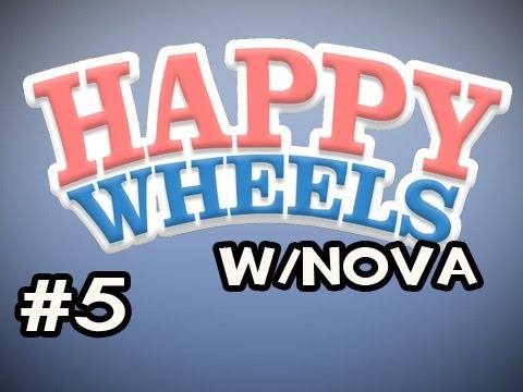 Happy Wheels w/Nova Ep.5 - Trying To Get MAH CAR BACK Video