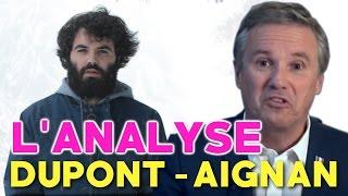 """Hello, on se retrouve pour un 1er épisode des Analyses Random, avec l'émission YouTube du candidat à la présidentielle Nicolas Dupont-Aignan. Évidemment, tous les épisodes ne parleront pas de politique, en particulier après cette période d'élections ! Vous pouvez partager si ça vous plaît, et me dire ce que vous en pensez dans les commentaires !Twitter : @MisterJDayS'abonner à ma chaîne YouTube : http://bit.ly/MisterJDayFacebook : http://www.facebook.com/MisterJDay► VIDÉO BONUS : https://youtu.be/wXdXdtnqhTw ◄Écrit et réalisé par MisterJDayCadre : Julien C.Avec la participation de Gael K.NB : L'équipe de Dupont-Aignan a passé la vidéo du """"fameux tweet"""" en non-répertorié, puis ils l'ont repassée en public, etc etc, bref, au cas où, voici le lien : https://youtu.be/yRTj8vQe_R4?t=6m47sAAVFX Channel : http://director-editor.coi.co.il/Ma chaîne YouTube : http://www.youtube.com/JDayMa deuxième chaîne : http://www.youtube.com/SuperJDay64"""