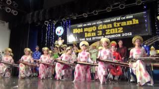 [Hội Ngộ Đàn Tranh III - 2012] Hòa Tấu LƯU BÌNH KIM&XUÂN PHONG - LONG HỔ