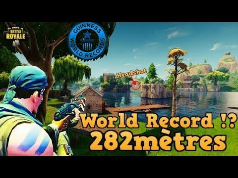 FORTNITE WORLD RECORD CARABINE ??!!!