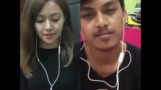 Waw keren banget suara Shima(ratu smule) ft adhie-Bukan cinta biasa