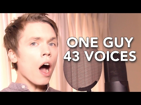 One Guy, 43 Voices (with music) - Roomie (видео)