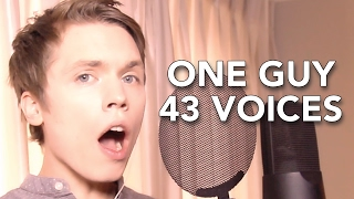 Video One Guy, 43 Voices (with music) - Roomie MP3, 3GP, MP4, WEBM, AVI, FLV Agustus 2018