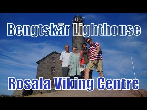 Visiting Rosala Viking Centre Island and Bengtskär Lighthouse