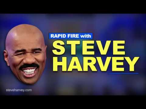 Rapid Fire With Steve Harvey | Miss Universe Flub, Approaching The Mirror After A Shower and More
