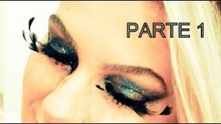 Maquiagem para o Carnaval por Alice Salazar - Parte 1