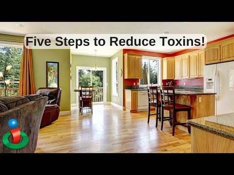 5 Easy Steps to Reduce Toxins in the Home