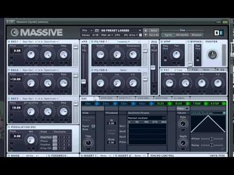 big room house - Here with my first synth tutorial, a very versitile Big Room House lead! I also explain a few NI Massive functions Apologies for he sound and video quality, ...