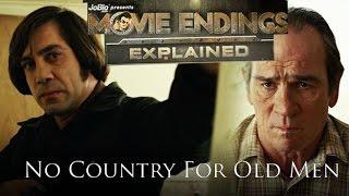 Movie Endings Explained: NO COUNTRY FOR OLD MEN (2007) Tommy Lee Jones, Javier Bardem crime thriller