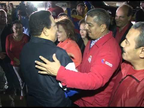 10 DIC 2012 Salida del Pdte Hugo Chávez a La Habana, Cuba, para Tratamiento Médico