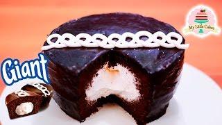 GIANT HOSTESS CUPCAKE | MY LITTLE CAKES