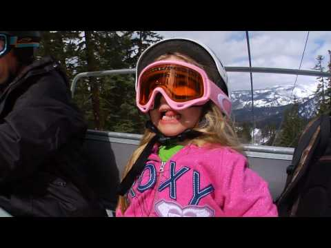 Young Girl Snowboarding Phenom: Bailey Duran – Age 4