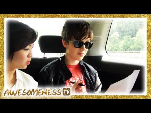 Greyson Chance - Greyson acts in a scene where he orders food in fluent Malaysian for Jinny Boy TV. watch Greyson in Jinny Boy TV's video here http://www.youtube.com/watch?v=...