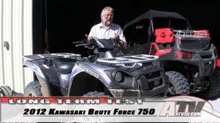 3. ATV Television - 2012 Kawasaki Brute Force 750 EPS Long Term Test
