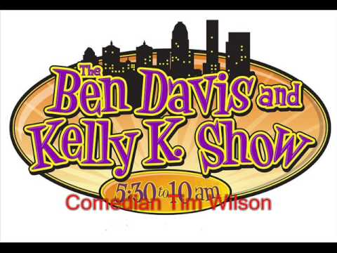 Comedian Tim Wilson w/Ben & Kelly