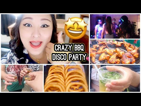 (Crazy Disco BBQ Party With My Friends | Primark Beauty Blender First Impression! - Day #127 - Duration: 14 minutes.)