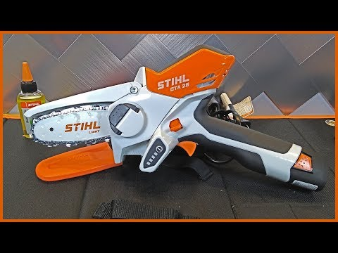 The CUTEST Tool You Will Ever Own Is STIHL's New 4 Inch Chainsaw | GTA 26