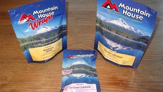 Freeze-Dried Foods Review: Mountain House Breakfast Skillet and Chili Mac with Beef