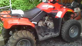 10. 2006 Arctic Cat 250 Review; Exhaust and Short Drive