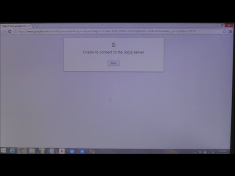 how to troubleshoot proxy server