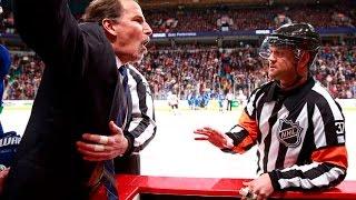 NHL Coach fights
