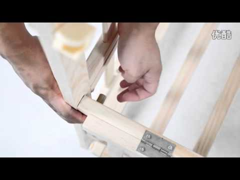 Baby Cot Demo And Assembly Process Video