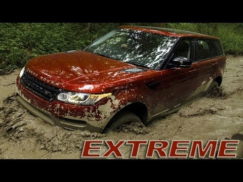 Range Rover Sport: Extreme Off-Road & Mud – SLOW MOTION [HD 1080p]