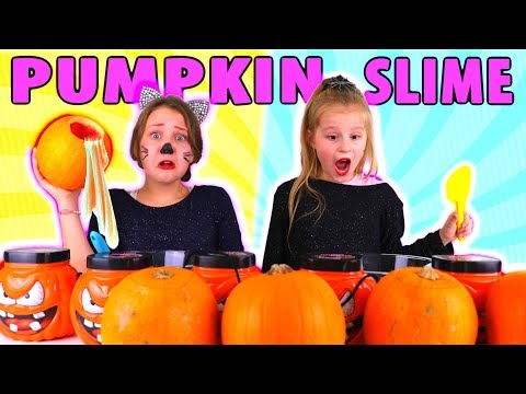 Don't Choose the Wrong Pumpkin Slime Challenge!!