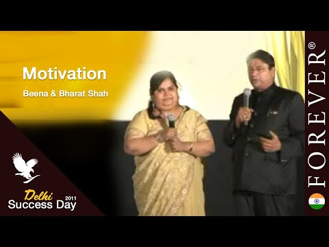 Motivation by Beena & Bharat Shah at Delhi Success Day