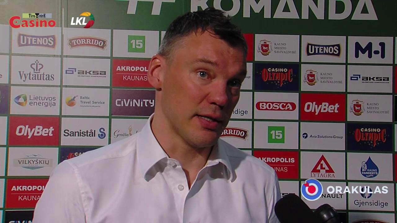 """Š. Jasikevičius: """"Darbas atliktas puikiai"""""""