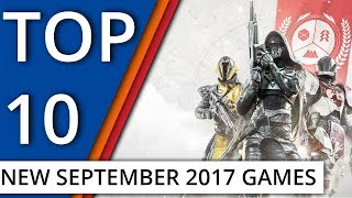 Top 10 September 2017 Game Releases