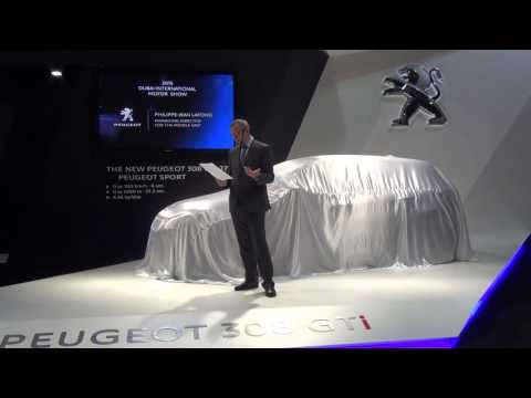 Peugeot - Dubai International Motor Show 2015