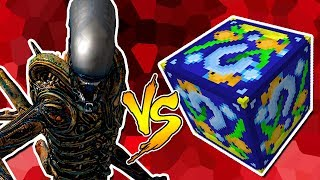 ALIEN VS. LUCKY BLOCK PEIXE (MINECRAFT LUCKY BLOCK CHALLENGE)