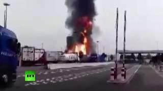 В Германии взорвался химический завод