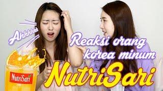 Video Reaksi orang korea minum NutriSari 누트리사리를 처음 마셔본 한국인들의 반응?!! MP3, 3GP, MP4, WEBM, AVI, FLV November 2018