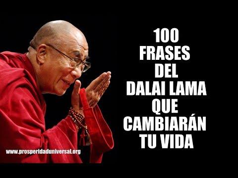 Famous quotes - 100 FRASES DEL DALAI LAMA QUE CAMBIARÁN TU VIDA - PROSPERIDAD UNIVERSAL