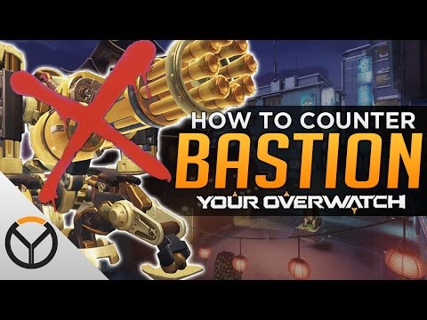 Overwatch: How To Counter THE NEW Bastion!